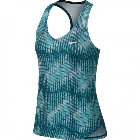 Dámské tenisové tílko Nike Pure Tank PURPLE SLATE/WHITE