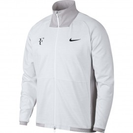 Pánská tenisová bunda Nike RF WHITE/DK GREY