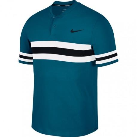 Pánské tenisové tričko Nike  Dry Advantage Polo GREEN ABYSS