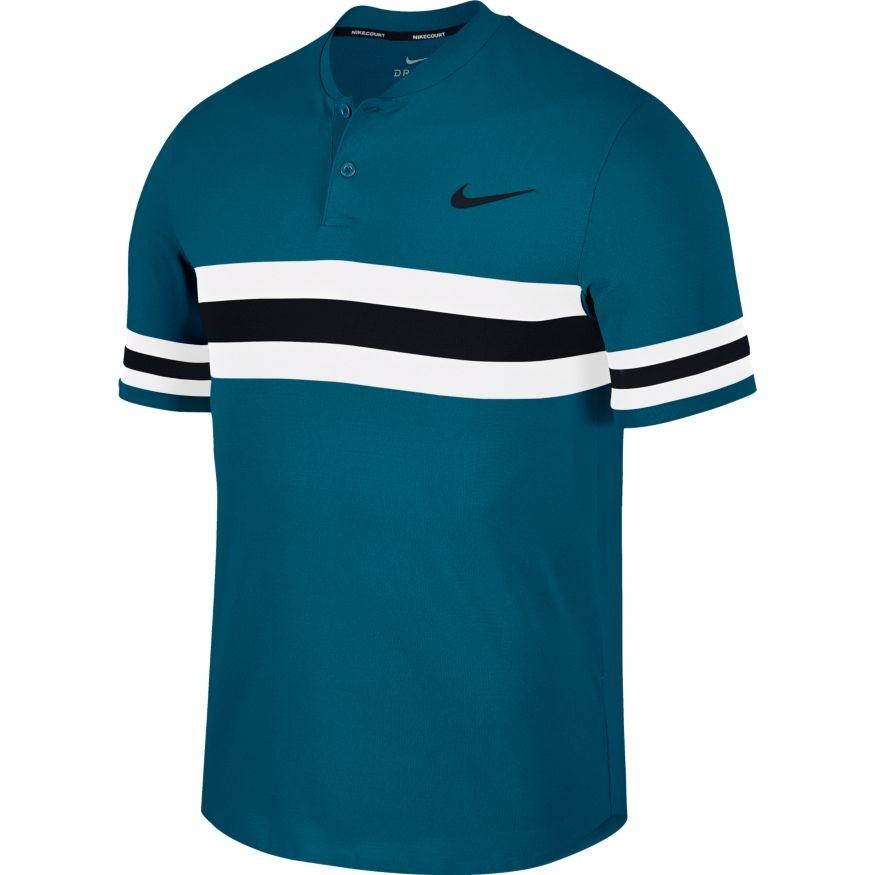 Pánské tenisové tričko Nike Dry Advantage Polo GREEN ABYSS - Tenissport  Březno 50d3c96b7e