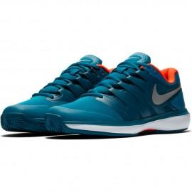 Dětská tenisová obuv Nike Air Zoom Prestige Clay GREEN ABYSS