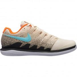 Dětská tenisová obuv Nike Air Zoom Vapor X Clay LIGHT CREAM