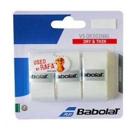 Omotávka Babolat VS Grip Originál white / 3 ks
