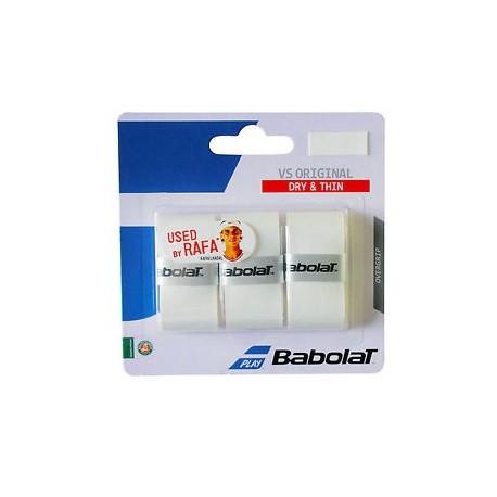 Tenisová omotávka Babolat VS Grip Originál white 3 ks