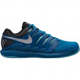 Dětská tenisová obuv Nike Air Zoom Vapor X Clay GREEN ABYSS