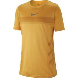 Dětské tenisové tričko Nike Rafa LASER ORANGE