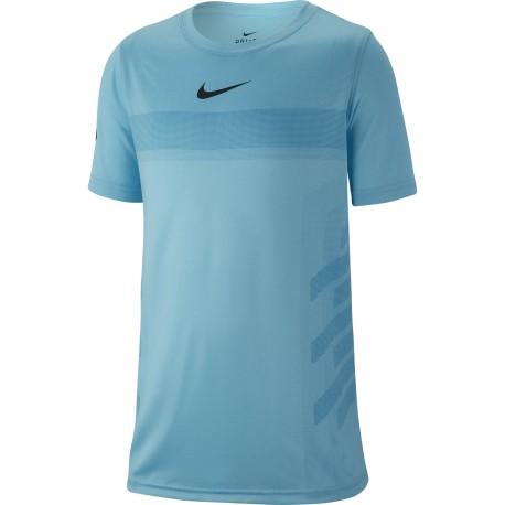 Chlapecké tenisové tričko Nike Legend Rafa blue