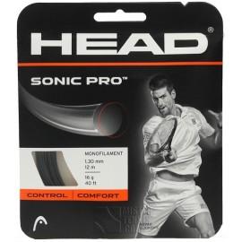 Tenisový výplet HEAD Sonic Pro 1.30 black 12 m