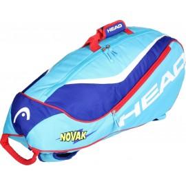 Tenisová taška HEAD Junior Combi Novak blue