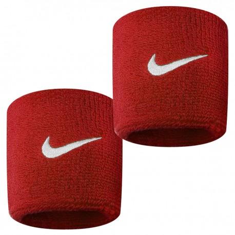 Potítka Nike Wristbands Swoosh varsity red X2