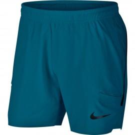 Pánské tenisové šortky Nike Flex Ace GREEN ABYSS/BLACK