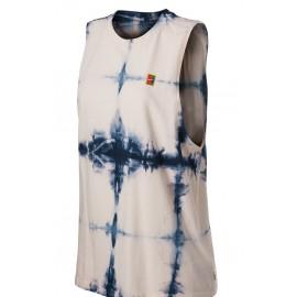 Dámské tenisové tričko Nike Tie Dye Muscle GUAVA ICE