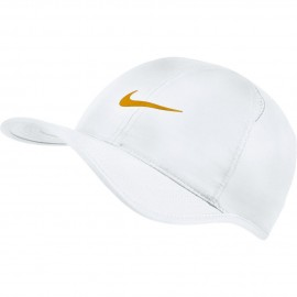 Kšiltovka NIKE Featherlight WHITE/GOLD