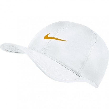 Kšiltovka NIKE Featherlight WHITE/GOLD LEAF