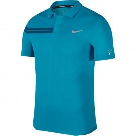 Pánské tenisové tričko Nike Zn Co RF NEO TURQ