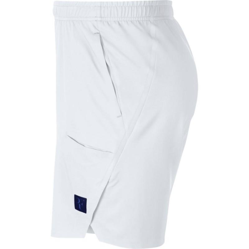 c432af962a3 Pánské tenisové šortky NikeCourt Flex RF Ace white - Tenissport Březno
