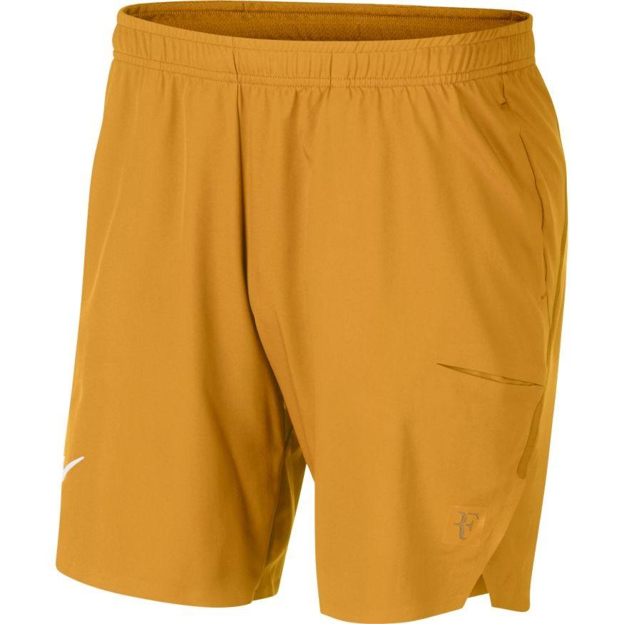 316db500aab Pánské tenisové šortky NikeCourt Flex RF Ace GOLD LEAF - Tenissport Březno