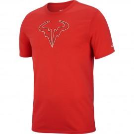 Pánské tenisové tričko Nike Rafa Dry HABANERO RED