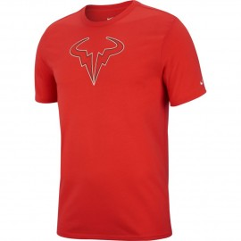 Pánské tenisové tričko Nikre Rafa Dry HABANERO RED