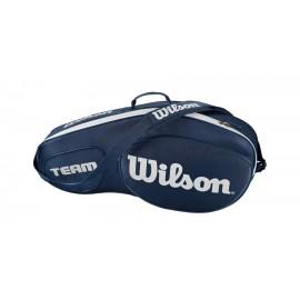 Tenisová taška Wilson Team III 3 Pack Blue
