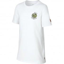 Dětské tenisové tričko Nike Sick ´Em white