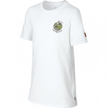 Dětské tenisové tričko Nike Sick Em white