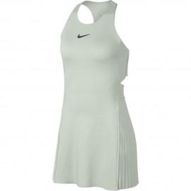 Dámské tenisové šaty Nike Maria LN LIGHT SILVER/GRIDIRON