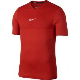 Pánské tenisové tričko Nike Aero React Rafa HABANERO RED