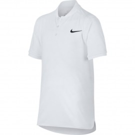 Chlapecké tenisové tričko Nike Polo ADV  white