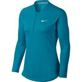 Dámské tenisové tričko Nike Pure LS NEO TURQ