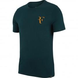 Pánské tenisové tričko Nike RF MIDNIGHT SPRUCE