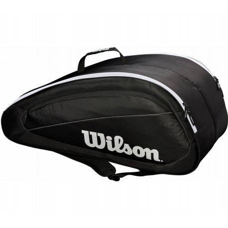 Tenisová taška Wilson Fed Team 12 PK black