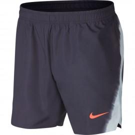 Pánské tenisové šortky Nike Flex Rafa Ace PLATINUM/HYPER CRIMSON