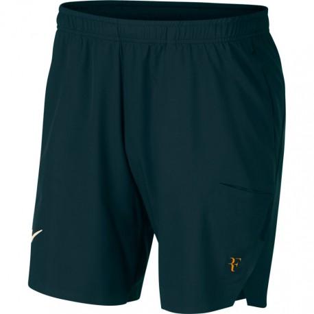 Pánské tenisové šortky NikeCourt Flex RF Ace MIDNIGHT SPRUCE/GUAVA ICE