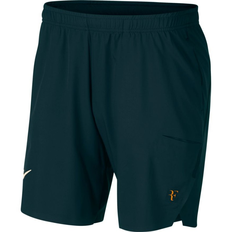 1f4f027425d ... Pánské tenisové šortky NikeCourt Flex RF Ace MIDNIGHT SPRUCE GUAVA ICE  ...