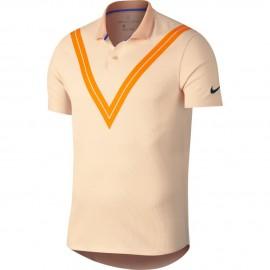 Pánské tenisové tričko Nike ZC RF GUAVA ICE
