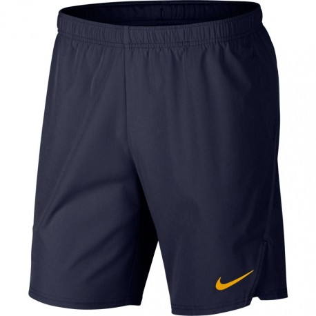 Pánské tenisové šortky Nike Flex Ace BLACKENED BLUE