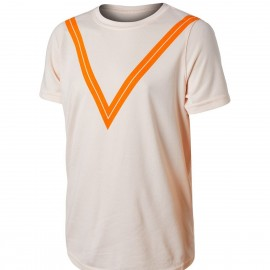 Chlapecké tenisové tričko Nike Court Dry RF GUAVA ICE/ORANGE PEEL