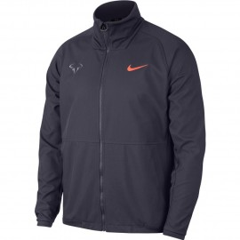 Pánská tenisová bunda Nike Rafa GRIDIRON/LIGHT CARBON