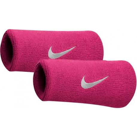 Potítka Nike swoosh doublewite vivit pink