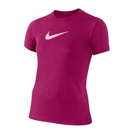 Dívčí tenisové tričko Nike Legend fuchsia