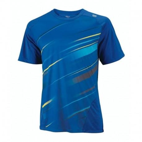 Pánské tenisové tričko Wilson Cardiff Blue