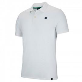 Chlapecké tenisové tričko Nike RF Esstl Polo white