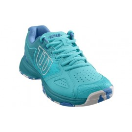 Dámská tenisová obuv Wilson Kaos Devo Blue Curac