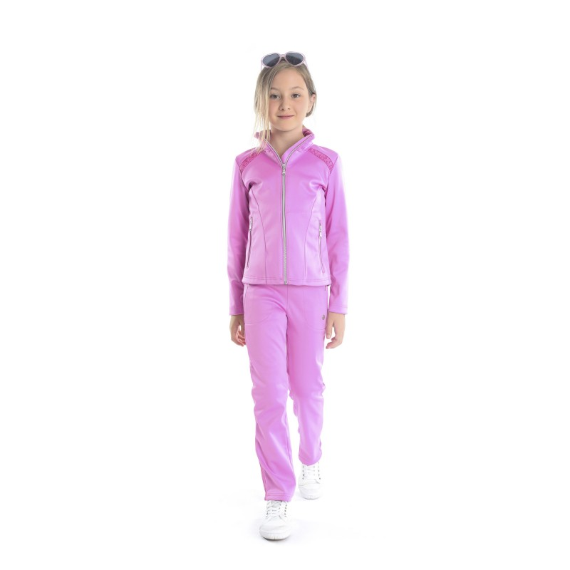 6f02269ee007 Dívčí tenisová bunda Poivre Blanc sakura pink - Tenissport Březno
