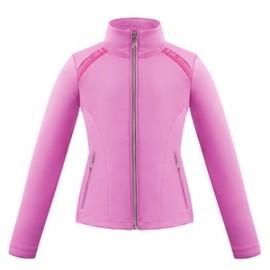 Dívčí tenisová bunda  Poivre-Blanc sakura pink