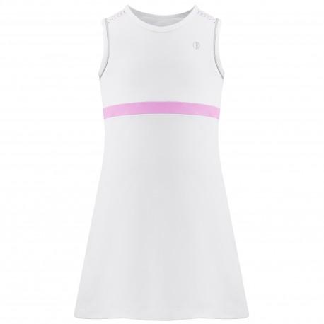 Dívčí tenisové šaty Poivre Blanc white pink