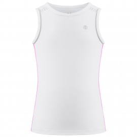 Dívčí tenisové tričko Poivre Blanc white
