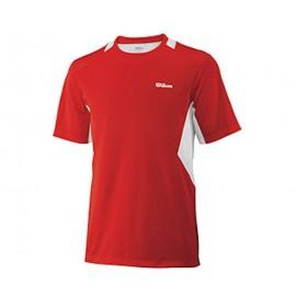 Pánské tenisové tričko Wilson Great Get Crew red