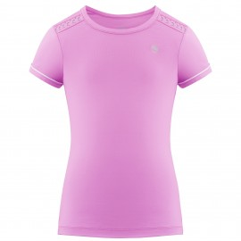 Dívčí tenisové tričko Poivre Blanc Short Sleeve sakura pink